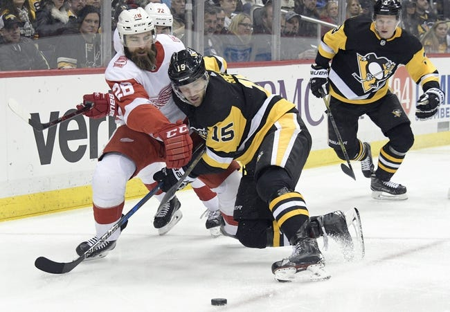 NHL | Pittsburgh Penguins (43-27-6) at Detroit Red Wings (27-38-11)