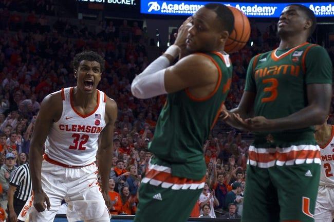 NCAA BB | Clemson at Miami (FL)