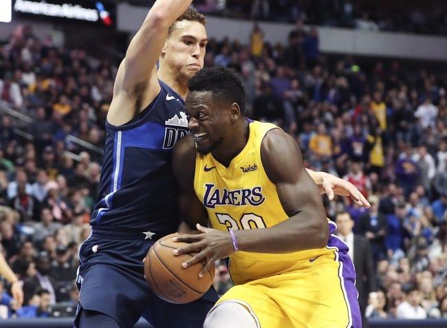 Dallas Mavericks vs. Los Angeles Lakers - 2/10/18 NBA Pick, Odds, and Prediction