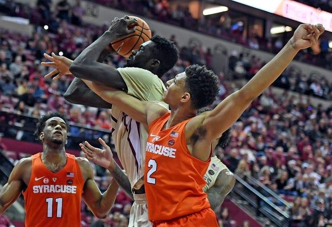 NCAA BB | Florida State at Syracuse