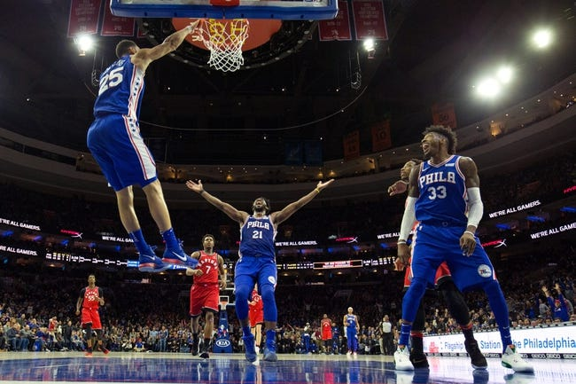 NBA | Philadelphia 76ers (4-3) at Toronto Raptors (6-1)