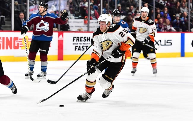 Anaheim Ducks vs. Colorado Avalanche - 4/1/18 NHL Pick, Odds, and Prediction