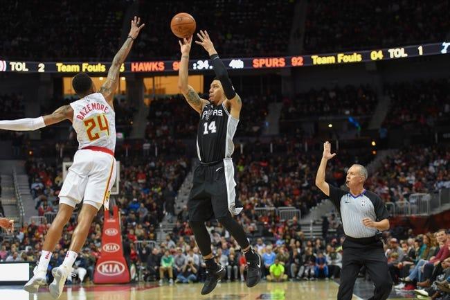 NBA | San Antonio Spurs at Atlanta Hawks