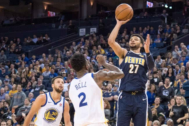 Denver Nuggets vs. Golden State Warriors - 2/3/18 NBA Pick, Odds, and Prediction