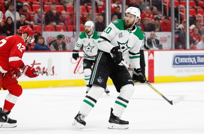 NHL | Detroit Red Wings (15-18-6) at Dallas Stars (19-16-3)