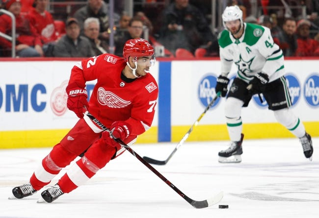 NHL | Dallas Stars (5-4-0) at Detroit Red Wings (1-7-2)