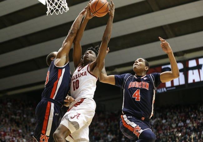 Auburn vs. Alabama - 2/21/18 College Basketball Pick, Odds, and Prediction