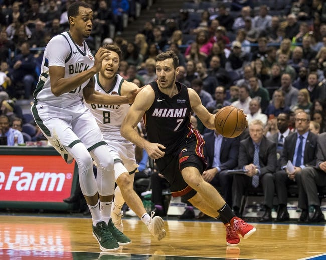 Miami Heat vs. Milwaukee Bucks - 2/9/18 NBA Pick, Odds, and Prediction