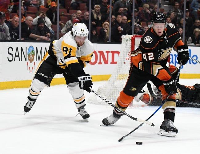 NHL | Anaheim Ducks (18-11-5) at Pittsburgh Penguins (15-11-6)