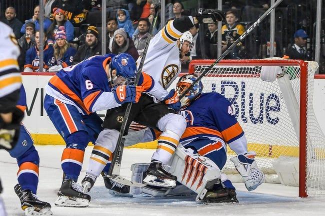 NHL   New York Islanders (12-9-2) at Boston Bruins (13-7-4)