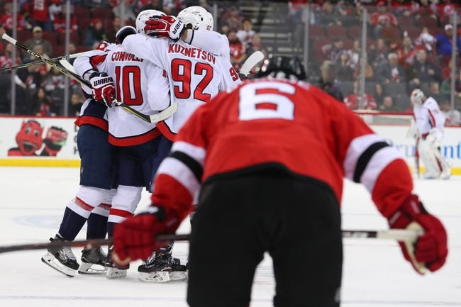 Washington Capitals vs. New Jersey Devils - 4/7/18 NHL Pick, Odds, and Prediction