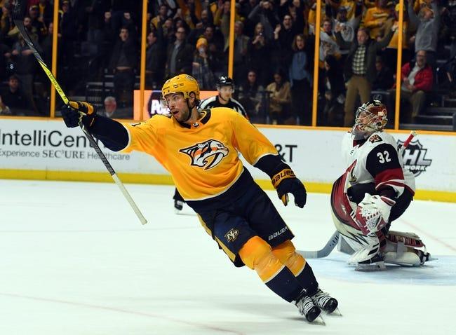 Arizona Coyotes vs. Nashville Predators - 3/15/18 NHL Pick, Odds, and Prediction