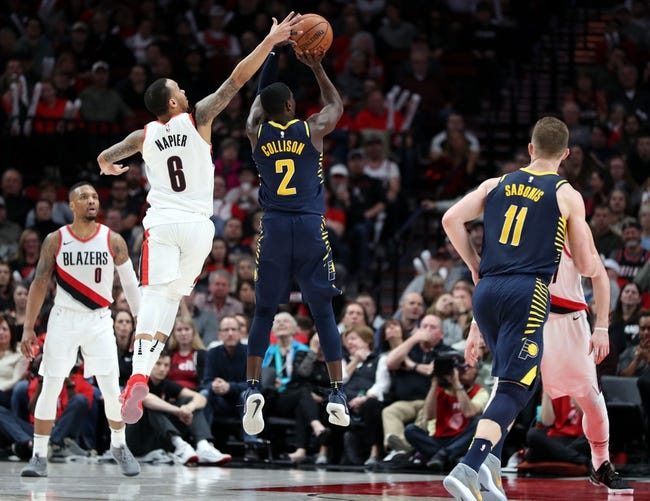 NBA | Portland Trail Blazers (3-2) at Indiana Pacers (4-2)
