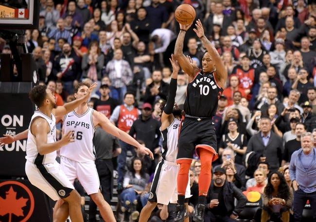 NBA   Toronto Raptors (28-11) at San Antonio Spurs (21-17)