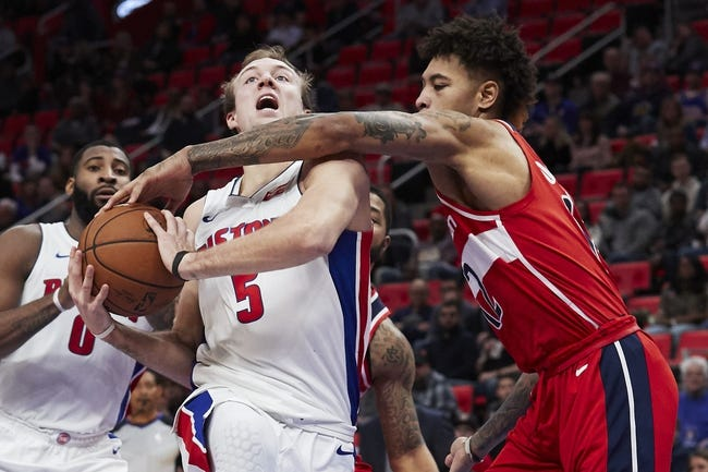 NBA | Washington Wizards (41-33) at Detroit Pistons (34-40)