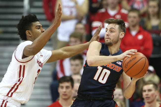 Illinois vs. Wisconsin - 2/8/18 College Basketball Pick, Odds, and Prediction