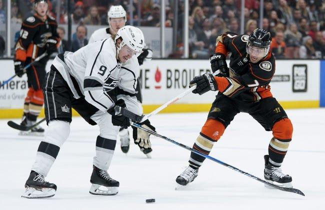 Anaheim Ducks vs. Los Angeles Kings - 3/30/18 NHL Pick, Odds, and Prediction