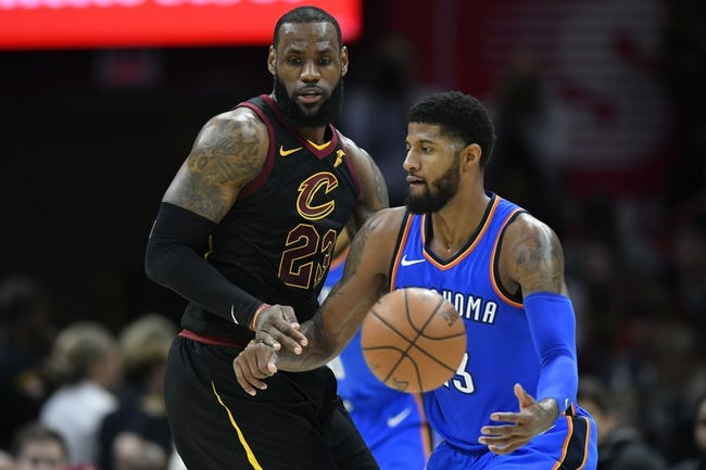 Oklahoma City Thunder vs. Cleveland Cavaliers - 2/13/18 NBA Pick, Odds, and Prediction