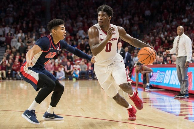 Mississippi vs. Arkansas - 2/13/18 College Basketball Pick, Odds, and Prediction