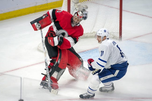 Toronto Maple Leafs vs. Ottawa Senators - 2/10/18 NHL Pick, Odds, and Prediction