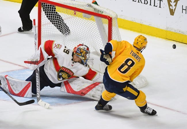 Florida Panthers vs. Nashville Predators - 4/3/18 NHL Pick, Odds, and Prediction