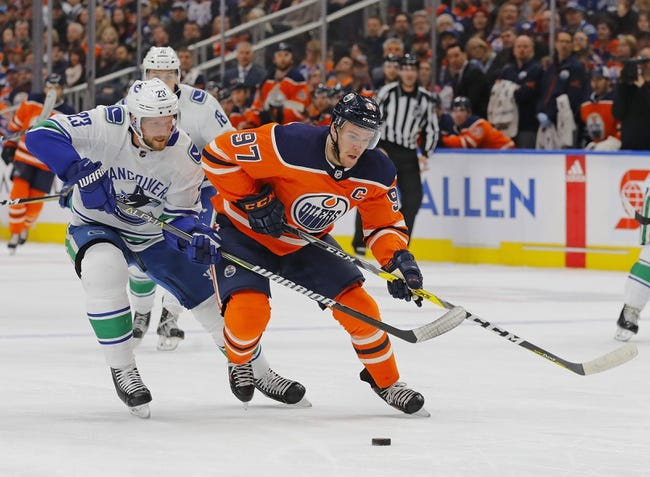 Vancouver Canucks vs. Edmonton Oilers - 3/29/18 NHL Pick, Odds, and Prediction