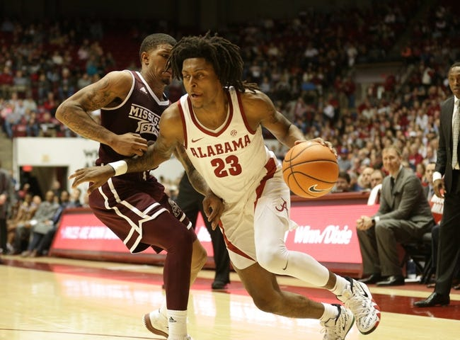 NCAA BB | Alabama Crimson Tide (15-8) at Mississippi State Bulldogs (17-6)
