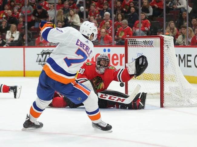 NHL | Chicago Blackhawks (15-21-6) at New York Islanders (21-13-4)