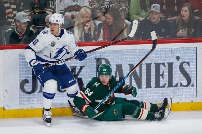 Minnesota Wild vs. Tampa Bay Lightning - 10/20/18 NHL Pick, Odds, and Prediction