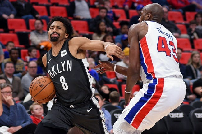 Detroit Pistons vs. Brooklyn Nets - 2/7/18 NBA Pick, Odds, and Prediction