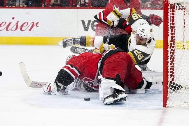 Vegas Golden Knights vs. Carolina Hurricanes - 11/3/18 NHL Pick, Odds, and Prediction