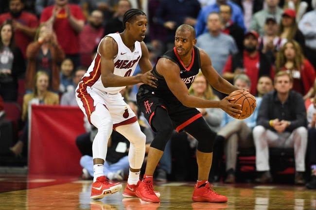 Miami Heat vs. Houston Rockets - 2/7/18 NBA Pick, Odds, and Prediction