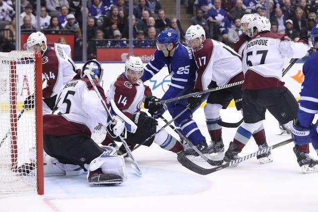 NHL   Colorado Avalanche at Toronto Maple Leafs