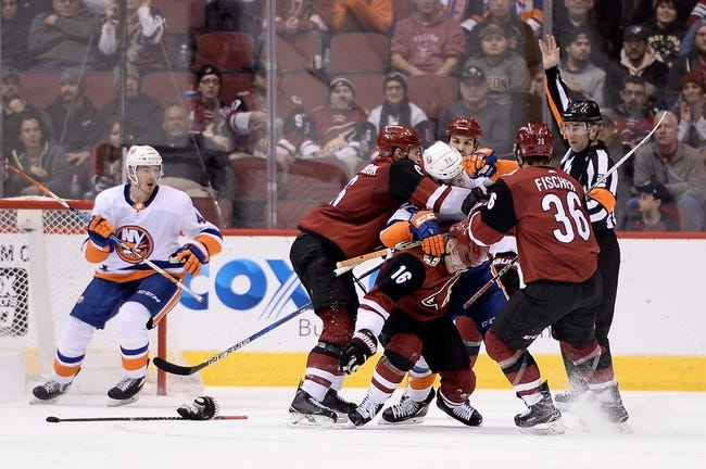 NHL | New York Islanders (16-12-4) at Arizona Coyotes (14-16-2)