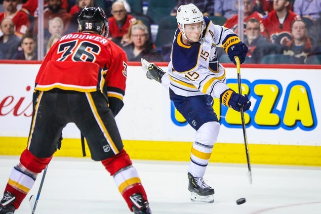 Buffalo Sabres vs. Calgary Flames - 3/7/18 NHL Pick, Odds, and Prediction