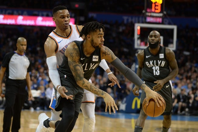 Brooklyn Nets vs. Oklahoma City Thunder - 12/5/18 NBA Pick, Odds, and Prediction