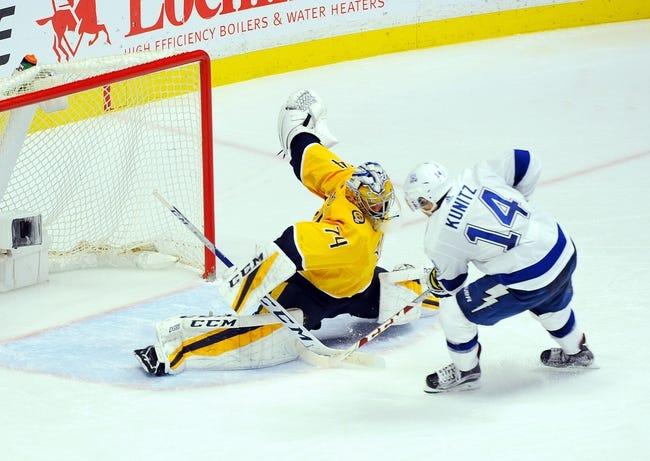Tampa Bay Lightning vs. Nashville Predators - 4/1/18 NHL Pick, Odds, and Prediction