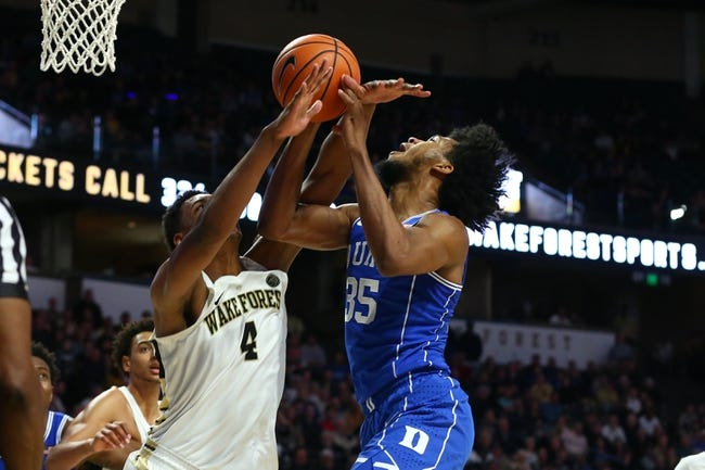 NCAA BB | Duke at Wake Forest