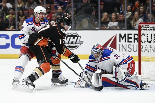 NHL | New York Rangers (4-7-1) at Anaheim Ducks (5-6-2)