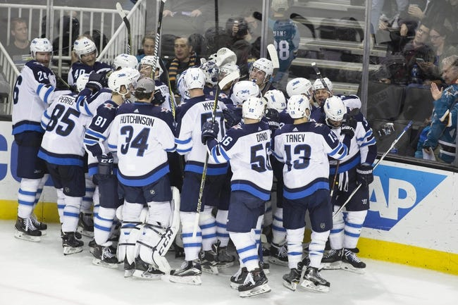NHL | Winnipeg Jets (22-10-2) at San Jose Sharks (19-11-5)