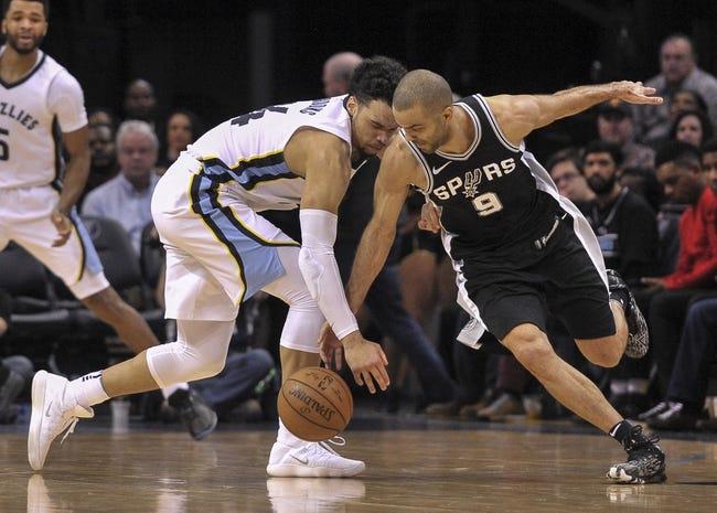 San Antonio Spurs vs. Memphis Grizzlies - 3/5/18 NBA Pick, Odds, and Prediction