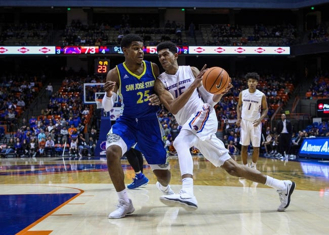 NCAA BB | San Jose State at Boise State