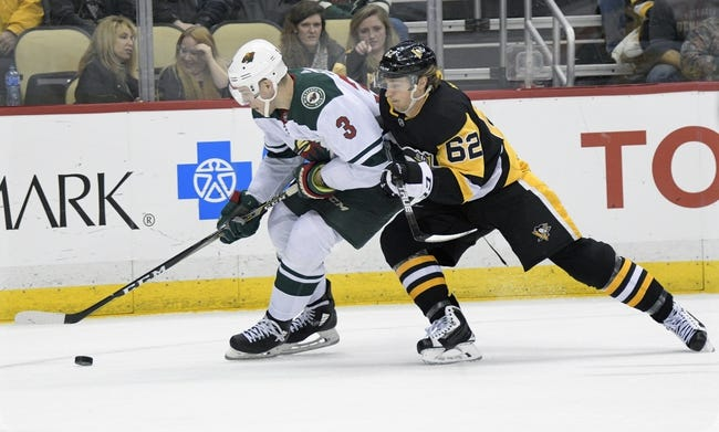 NHL | Minnesota Wild (17-14-2) at Pittsburgh Penguins (16-12-6)