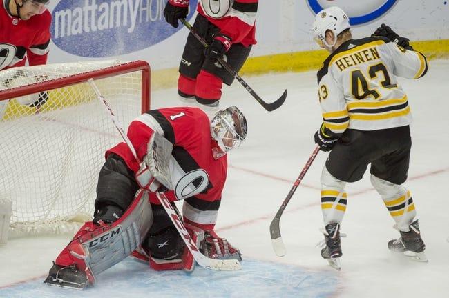 Boston Bruins vs. Ottawa Senators - 4/7/18 NHL Pick, Odds, and Prediction