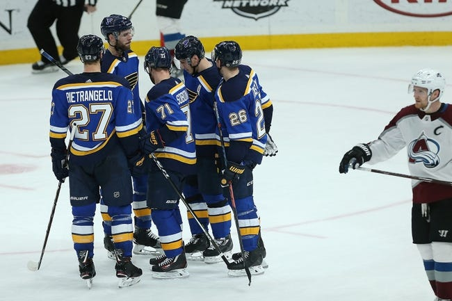 St. Louis Blues vs. Colorado Avalanche - 2/8/18 NHL Pick, Odds, and Prediction
