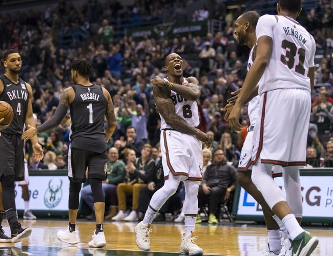 Brooklyn Nets vs. Milwaukee Bucks - 2/4/18 NBA Pick, Odds, and Prediction