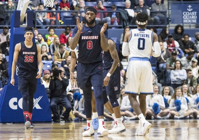 Duquesne vs. UIC - 11/12/18 College Basketball Pick, Odds, and Prediction