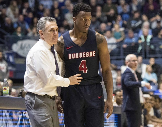 St. Bonaventure vs. Duquesne - 2/21/18 College Basketball Pick, Odds, and Prediction