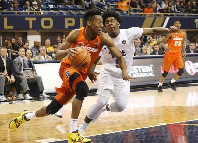Syracuse Vs Pittsburgh 1 19 19 College Basketball Pick Odds And