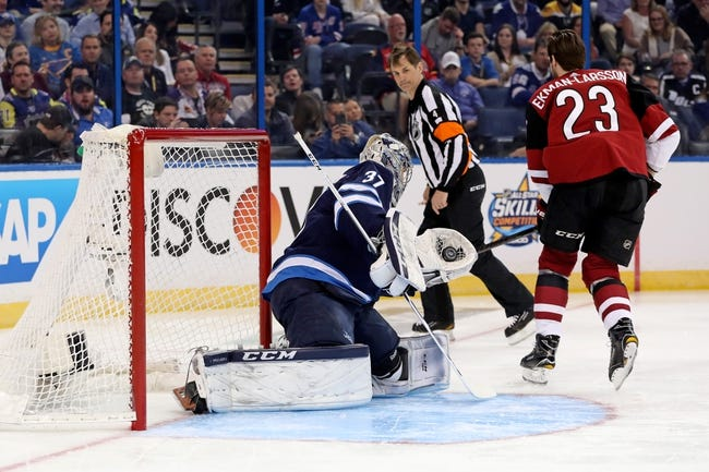 Winnipeg Jets vs. Arizona Coyotes - 2/6/18 NHL Pick, Odds, and Prediction